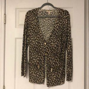 Michael Korda Cheetah Sweater